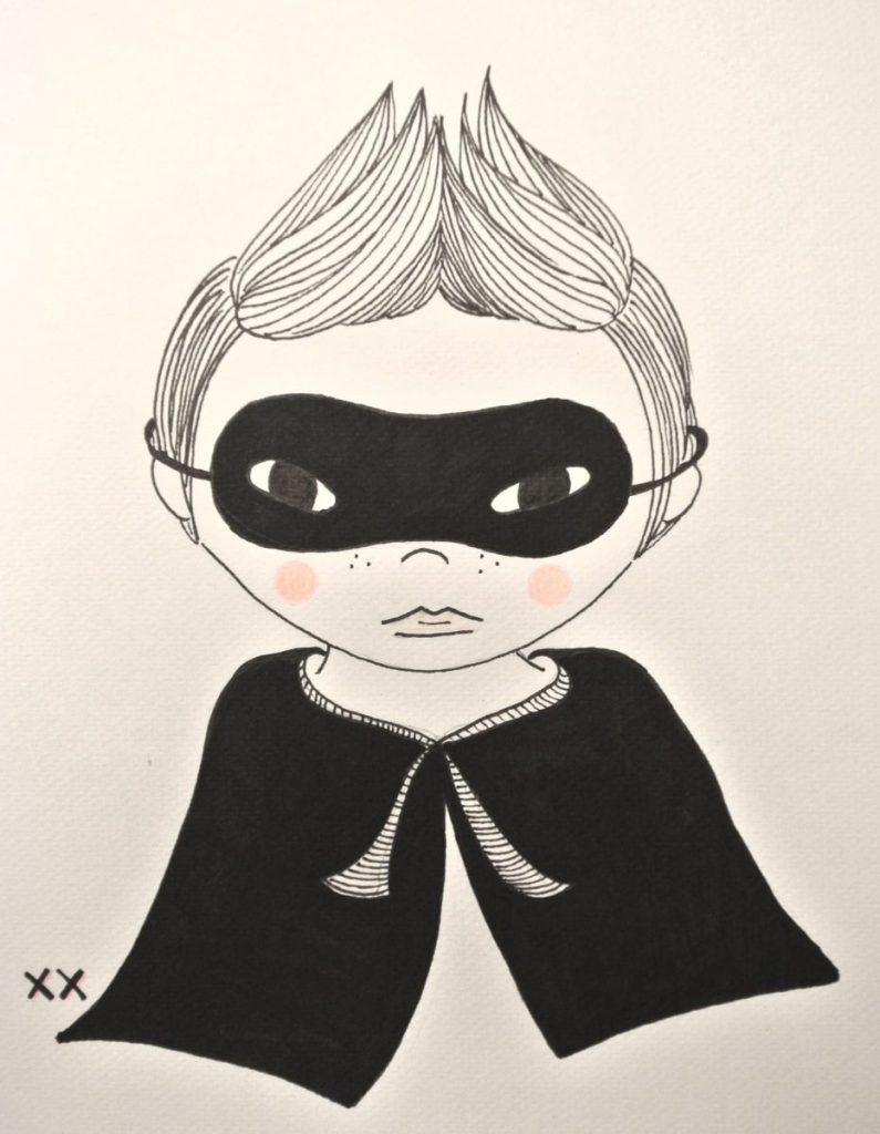 handmade tekening: haskesommers@gmail.com