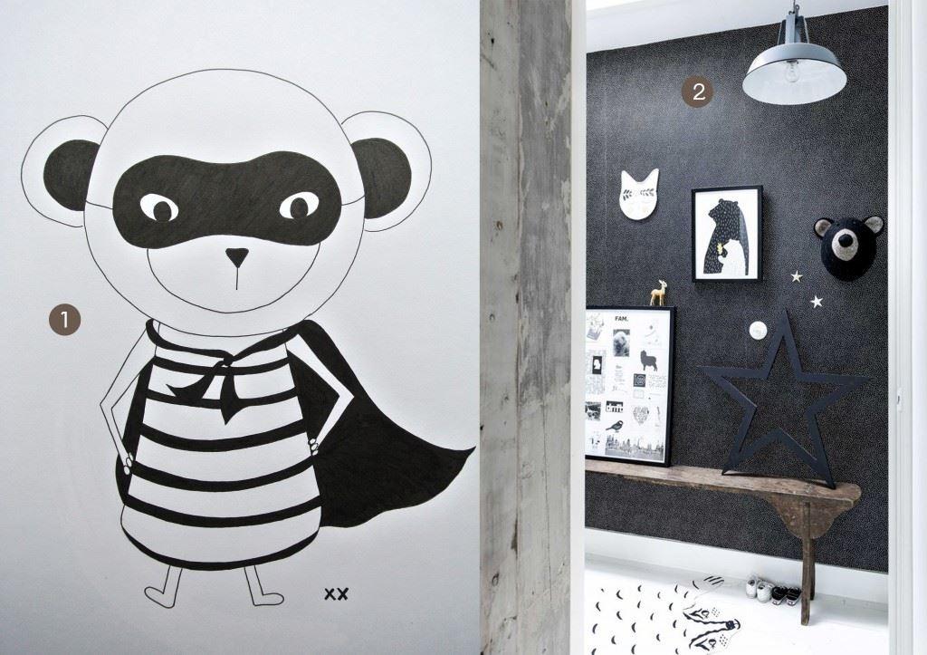 nr. 1: tekening aapje A3 handmade door mij: 20 euro: haskesommers@gmail.com | nr. 2: gevonden op vtwonen.nl