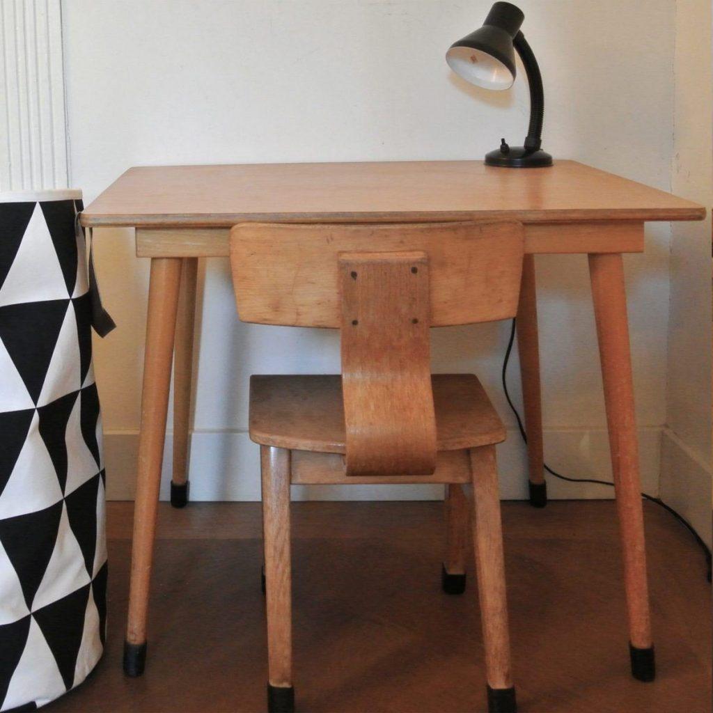 vintage houten schoolsetje | 69 euro | haskesommers@gmail.com