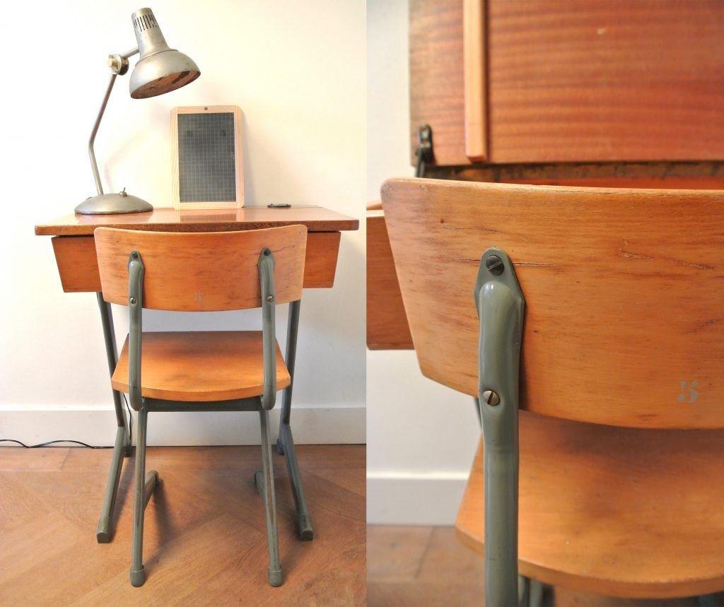 vintage klepbankje met stoel, 89 euro | haskesommers@gmail.com