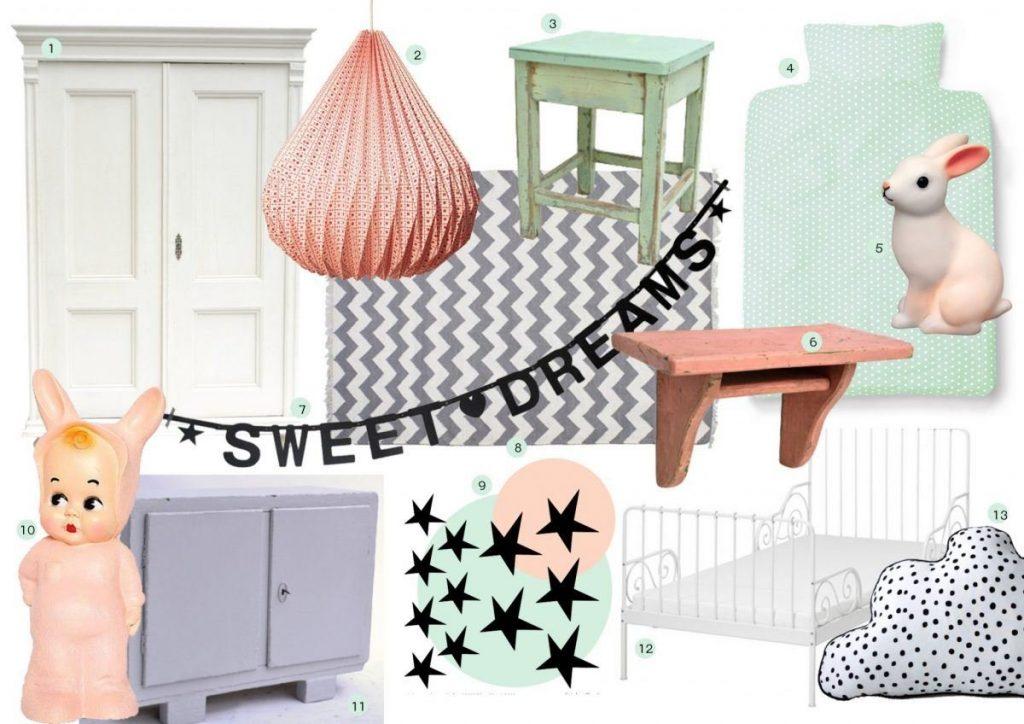 Eerste gedeelte van het advies voor Eva's kamer: interesse? Een advies op afstand kan al vanaf 55 eurro | haskesommers@gmail.com