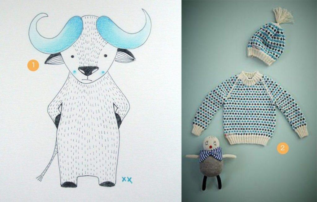 nr. 1: handmade buffeltje: A5: 16 euro : interesse? haskesommers@gmail.com | nr. 2: mor mor nu dan sweater - gevonden op florahenri