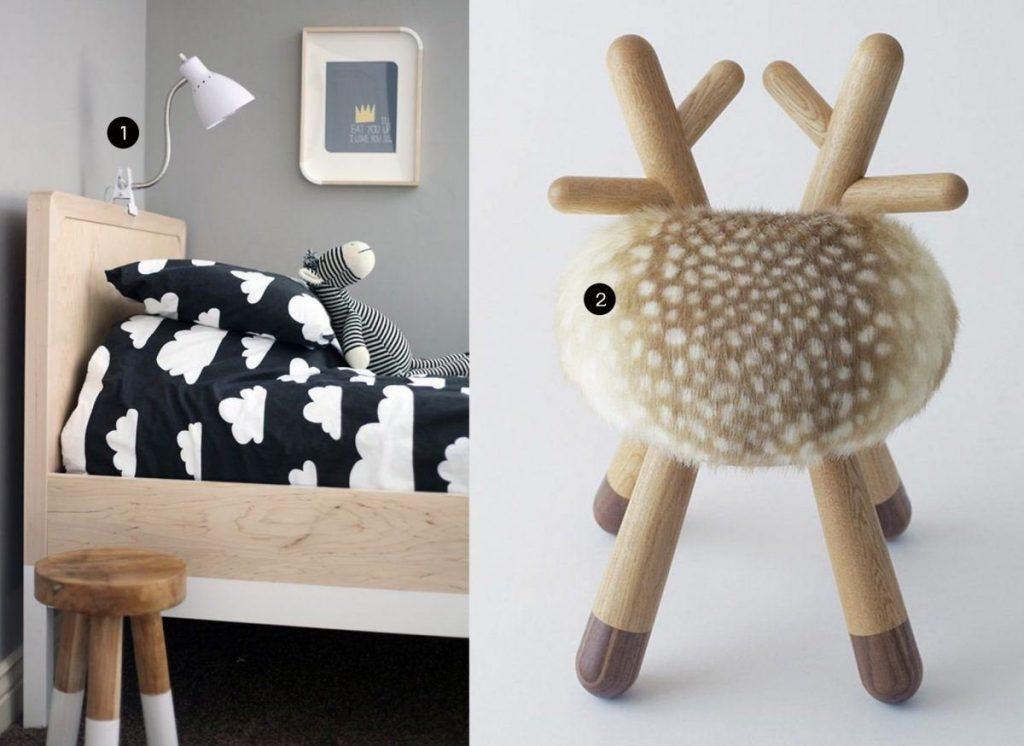 nr. 1: Gevonden op mcpherson4.blogspot | nr. 2: Poligöm - Kamina&C - Bambi Chair