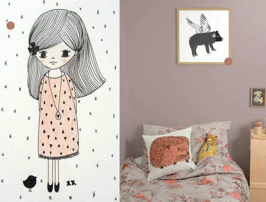 nr. 1: handmade meisje door mij: A4 22 euro | nr. 2: Gevonden op sianzeng
