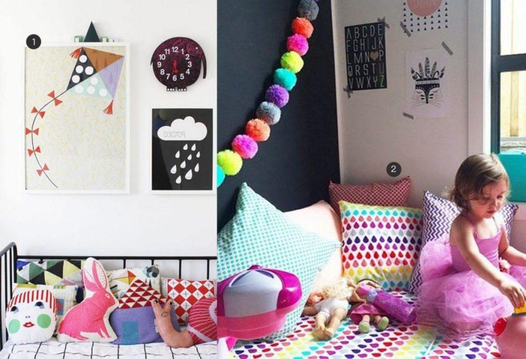 nr. 1: Varpunen Kids Room door Kenziepoo op Flickr | nr. 2: Gevonden op webstagramm