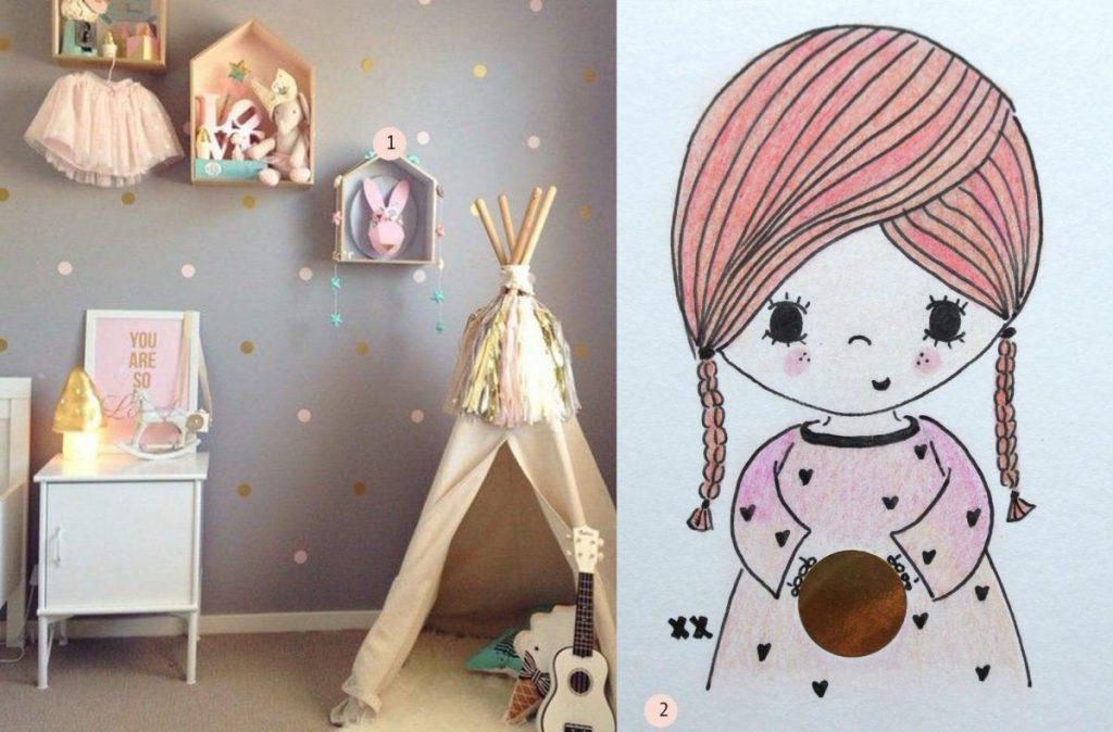 nr. 1: Gevonden op pinsta.me : nr. 2: meisje handmade by mij: A5: 15 euro | interesse? haskesommers@gmail.com