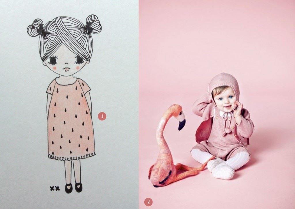 nr. 1: handmade illustratie, A4: 22 euro | interesse? haskesommers@gmail.com | nr. 2: Gevonden op milkmagazine