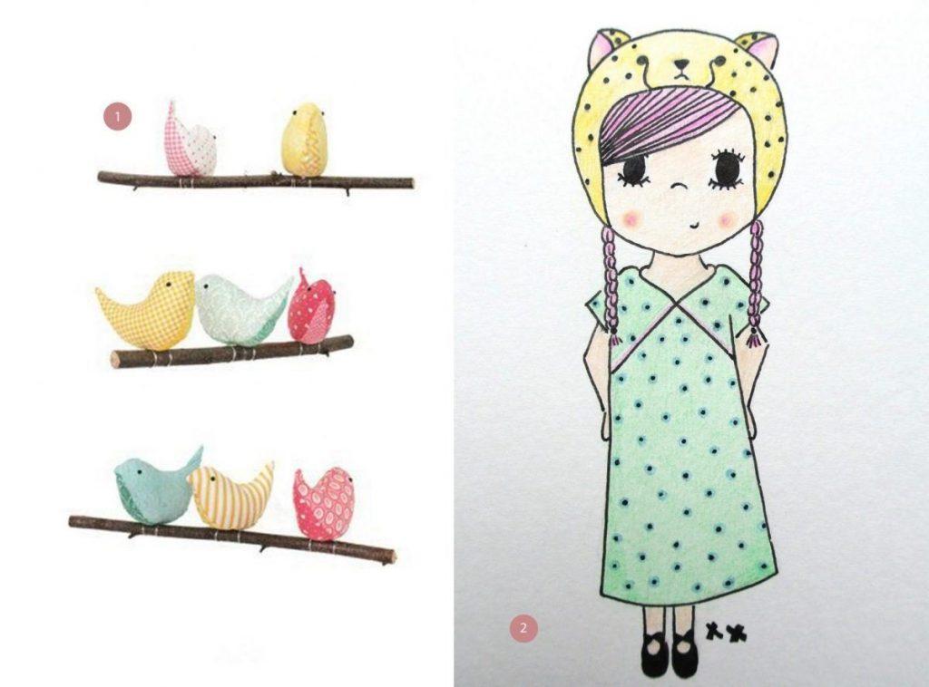 nr. 1: PiggedWings: gevonden op etsy | nr. 2: handmade meisje by mij: A4 22 euro | interesse? haskesommers@gmail.com