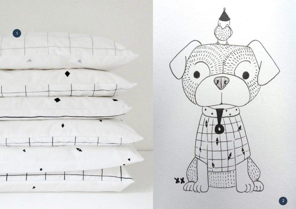 nr. 1: pillowcase-catsandboys | nr. 2: handmade hondje by mij: A5: 12 euro | interesse? haskesommers@gmail.com