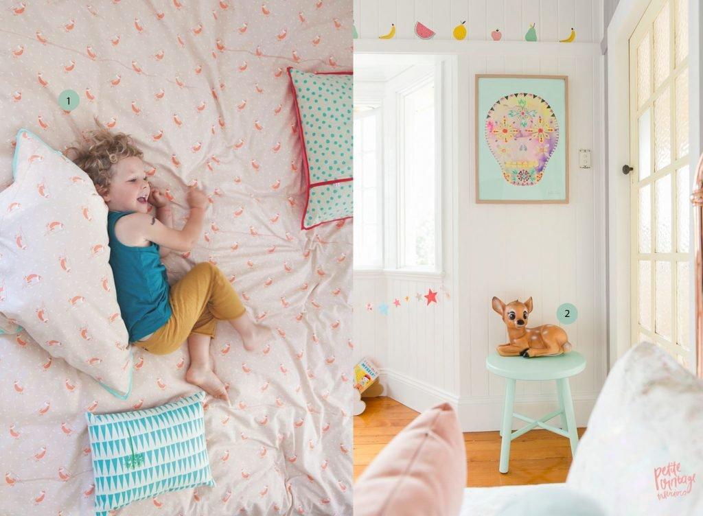 nr. 1: Gevonden op smallable | nr. 2: Olivias roomPetite Vintage Interiors