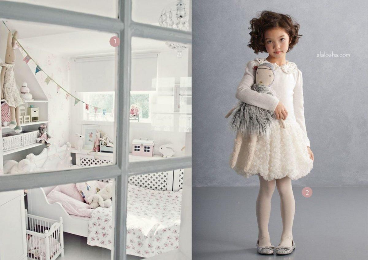 Inspiratie voor de kinderkamer kinderkamervintage - Meisje kamer sfeer ...
