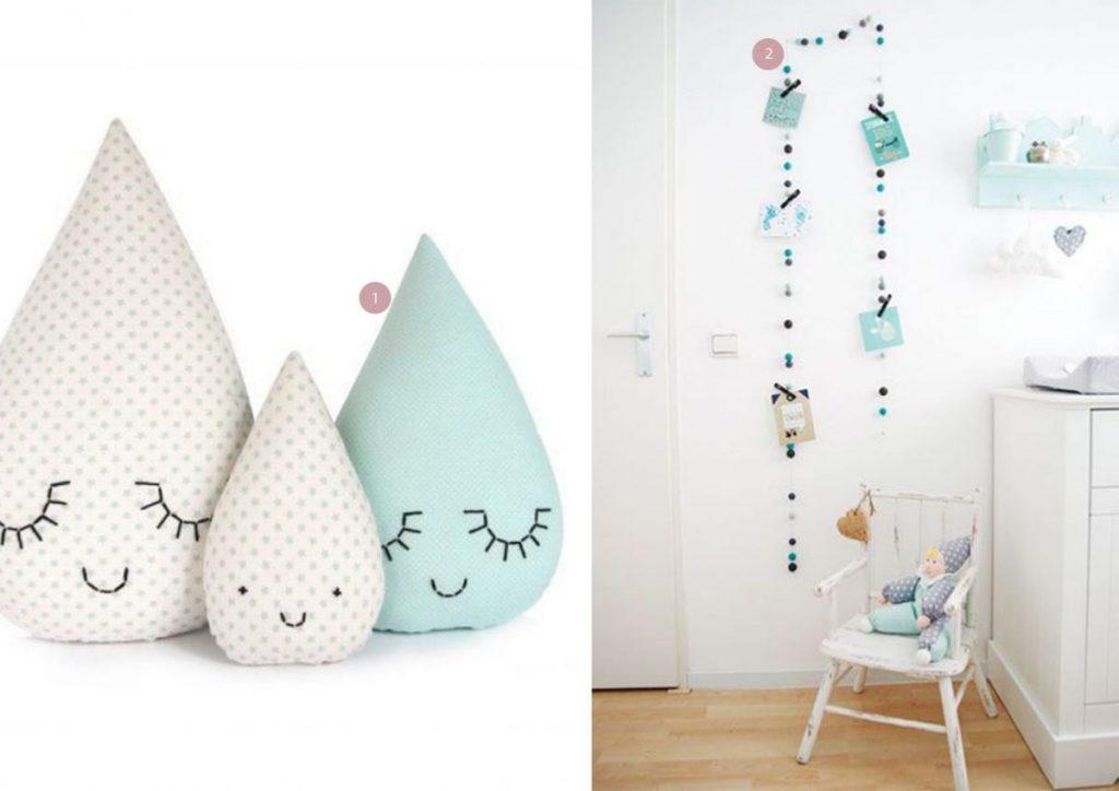nr. 1: Zü raindrop pillow family | nr. 2: Gevonden op wonenvoorjou