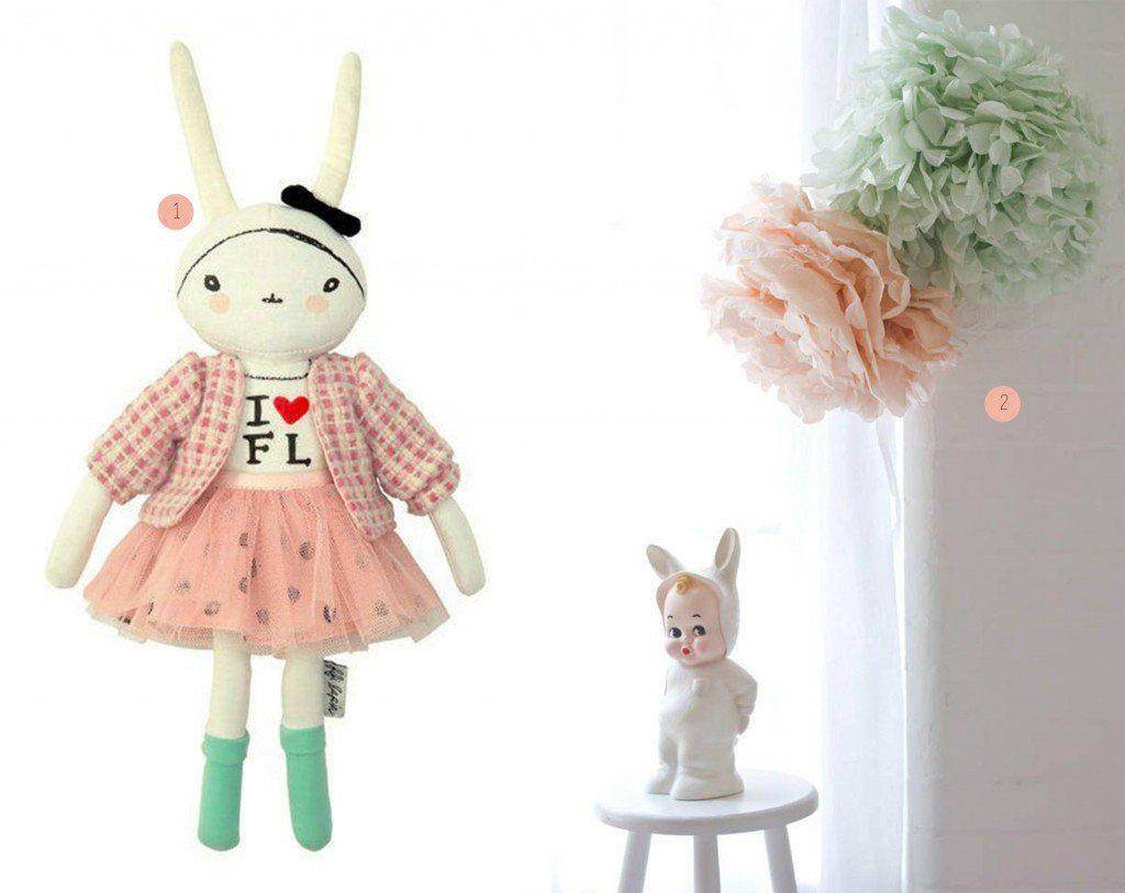 nr. 1: Fifi Lapin doll | nr. 2: Gevonden op bodieandfou