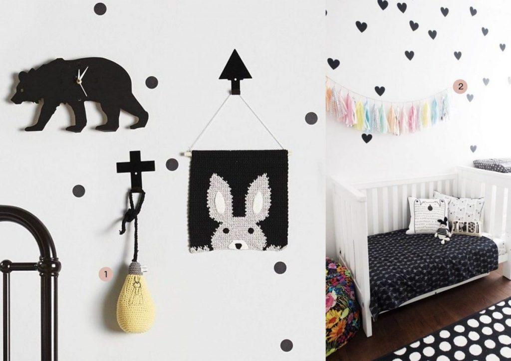 nr. 1: la de dah kids wall hangings | nr. 2: Gevonden op alphabetmonkey