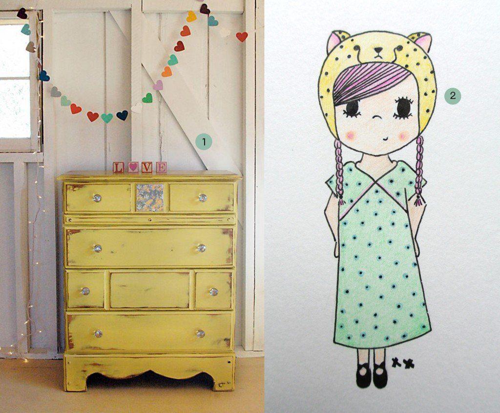 nr. 1: Gevonden op fiveoeight | nr. 2: handmade meisje by mij | interesse? A5: 16 euro, A4: 23 euro | haskesommers@gmail.com