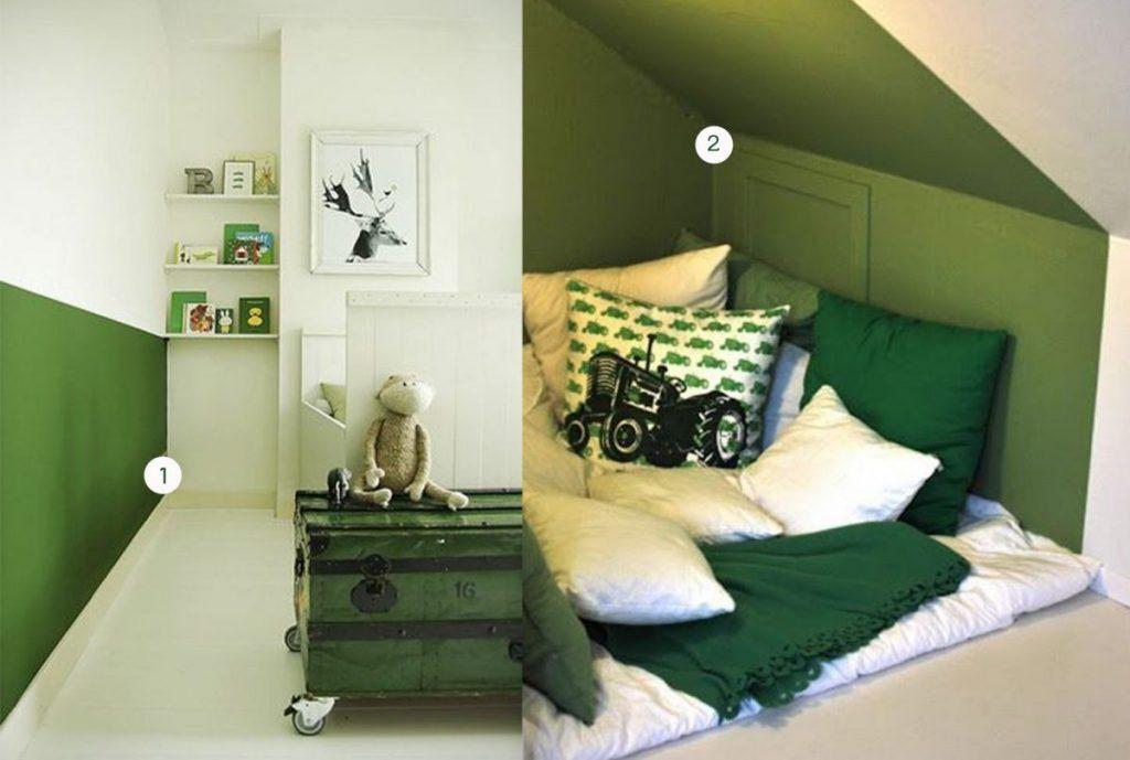 nr. 1: kids room, nursery © by MyDeer | nr. 2: Gevonden op feienogfjong
