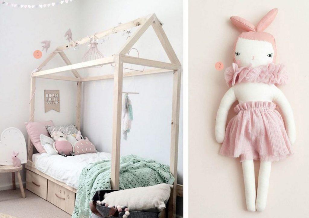 nr. 1: Gevonden op petitandsmall | nr. 2: shopminikin - Boramiri Nina, Light Pink