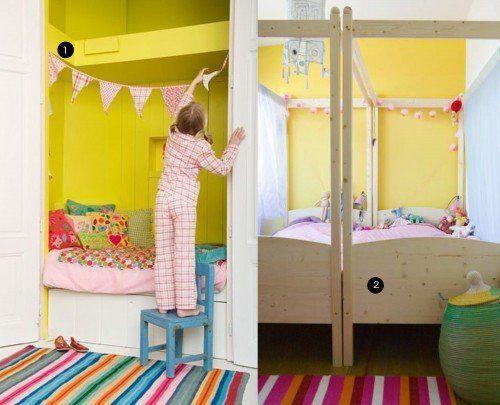 Inspiratie meisjeskamer kinderkamervintage