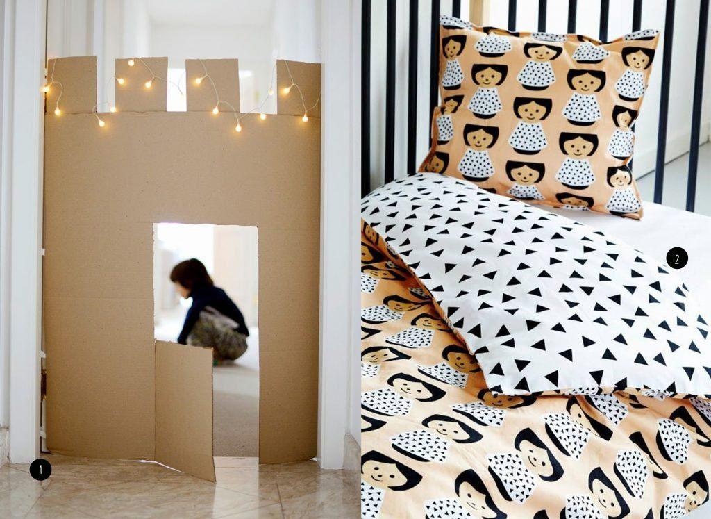 nr. 1: Gevonden op mommo-design.blogspot | nr. 2: Paul&Paula blog- Lucie Kaas bedding