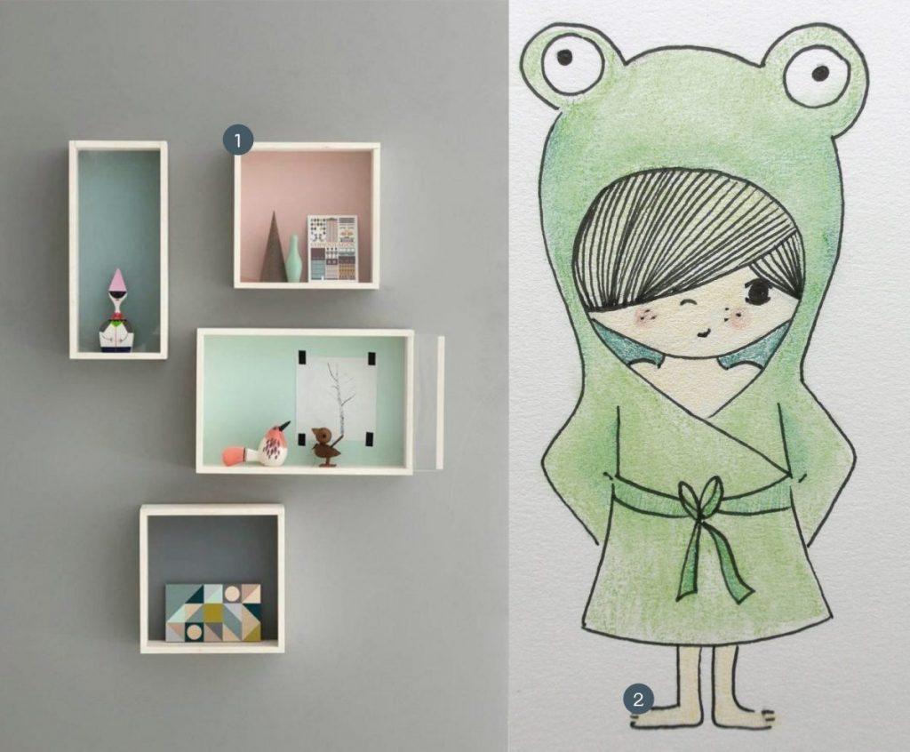 nr. 1: Gevonden op cutediyprojects | nr. 2: handmade jongetje door mij: verschillende formaten mogelijk | A4; 24 euro | interesse? haskesommers@gmail.com