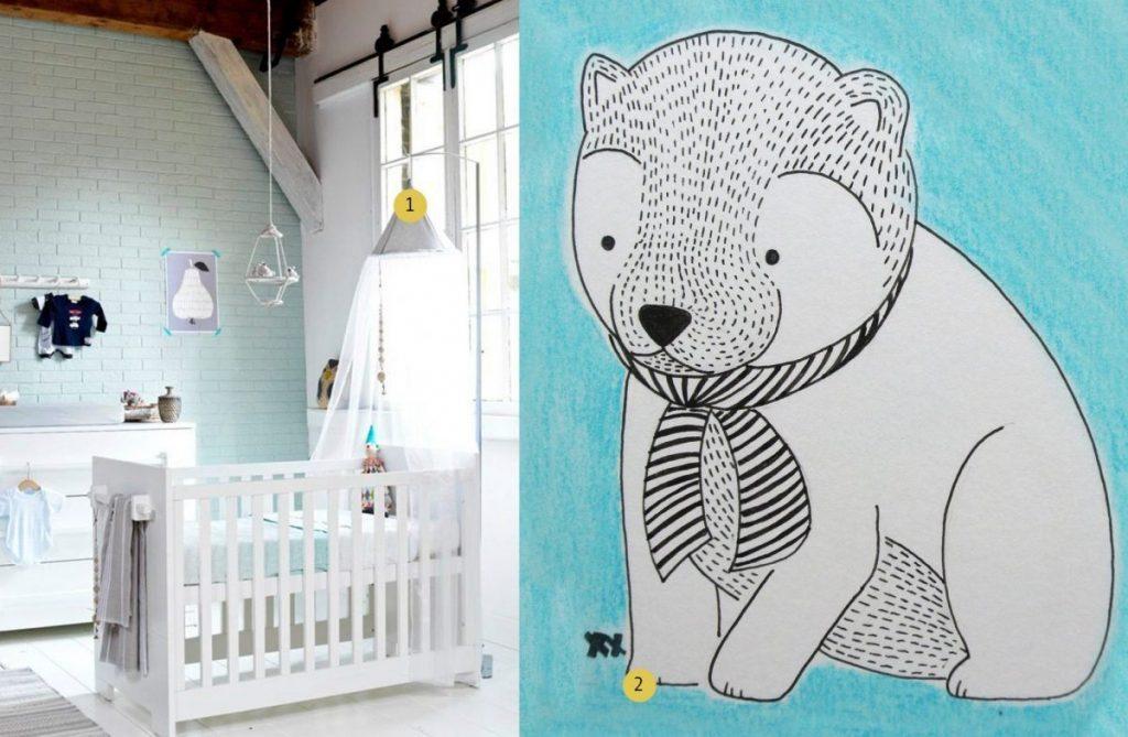 nr. 1: Gevonden op vtwonen | nr. 2: handmade illustratie door mij | interesse? haskesommers@gmail.com