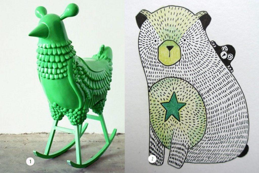nr. 1: Gevonden op hayonstudio | nr. 2: handmade beertje : A4: 25 euro | interesse? haskesommers@gmail.com