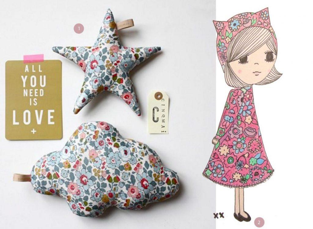 nr. 1: Gevonden op carolinebriel | nr. 2: handmade illustratie meisje | interesse? haskesommers@gmail.com | meerdere maten mogelijk | A4: 24