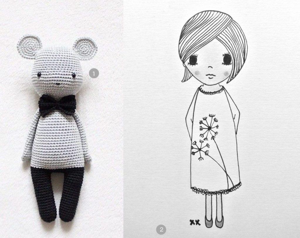 nr. 1: kikalite's photo on Instagram | nr. 2: handmade illustratie door mij: A4: 24 euro | interesse? verschillende formaten en wensen mogelijk: haskesommers@gmail.com