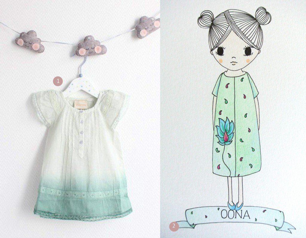 nr. 1: Gevonden op roseandmilk | nr. 2: voor Oona, handmade by me : ook interesse? haskesommers@gmail.com