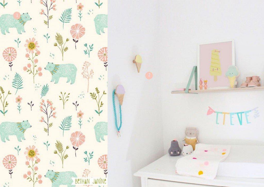 nr. 1: GARDEN BEARS | Pattern by bethanjanine | nr. 2: Baby nursery-eeflillemor