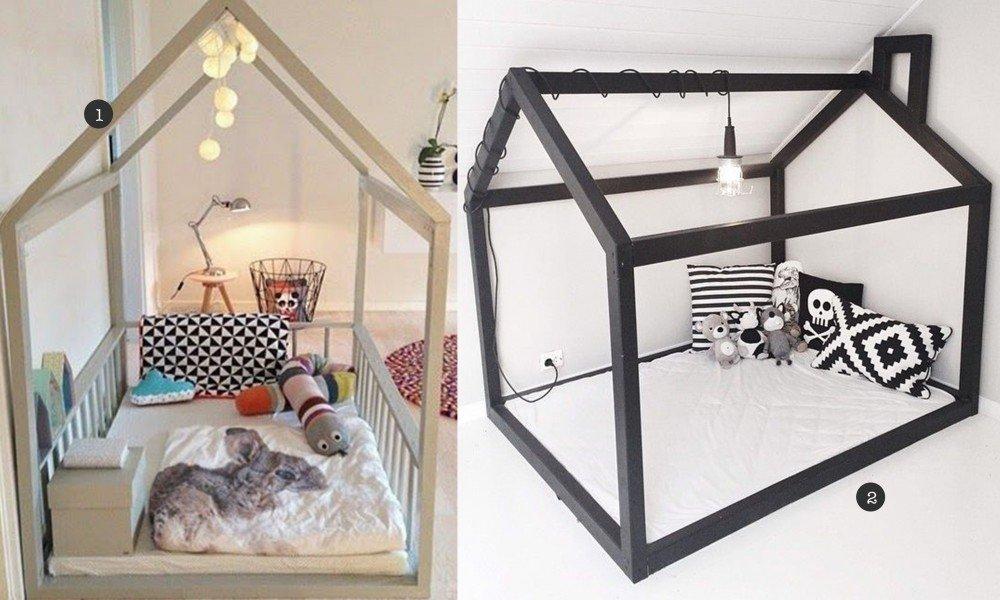 Fabulous huis bed zelf maken - Kinderkamervintage OD58