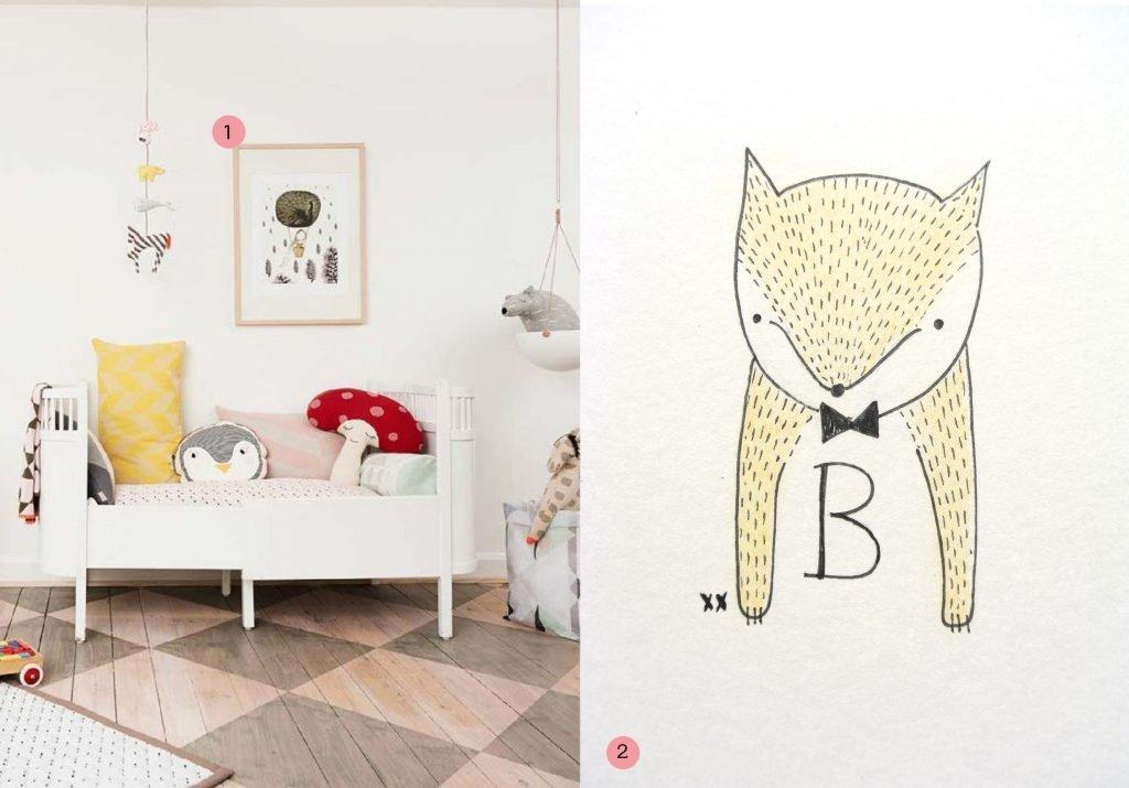 nr. 1: OYOY Living Design catalogue AW 14- issuu | nr. 2: handmade illustratie door mij, interesse? verschillende formaten en letters mogelijk: haskesommers@gmail.com