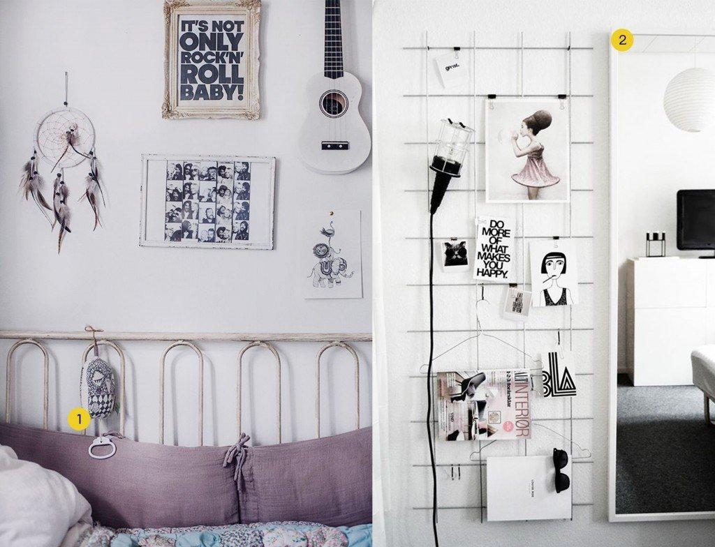 nr. 1: kids room, barnrum, Ferm Living muziekdoosje: gevonden op anna-elle | nr. 2: Gevonden op myparadissi: DIY idee