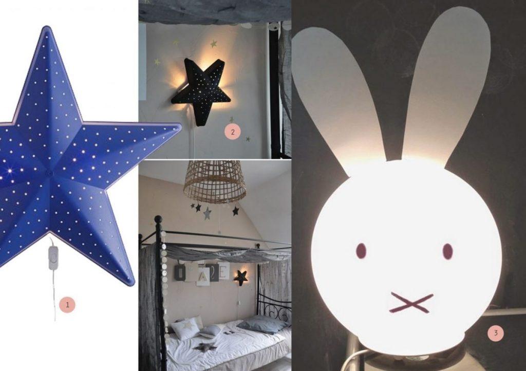 nr. 1: leegsmila-stjarna-wall-lamp IKEA | nr. 2: Gevonden op mommo-design.blogspot | nr. 3: Gevonden op bloglovin
