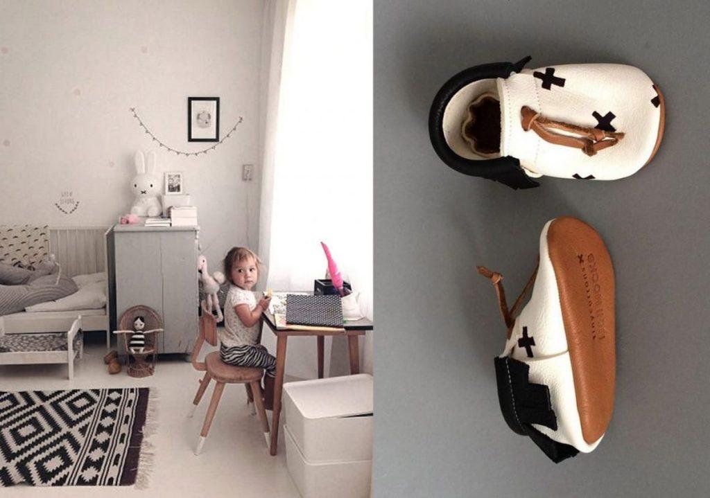 nr. 1: Gevonden op thebooandtheboy | nr. 2: Tinycottons via Mini Mocks
