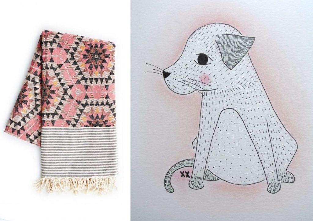 nr. 1: Gevonden op redonline.co | nr. 2: illustratie van hondje