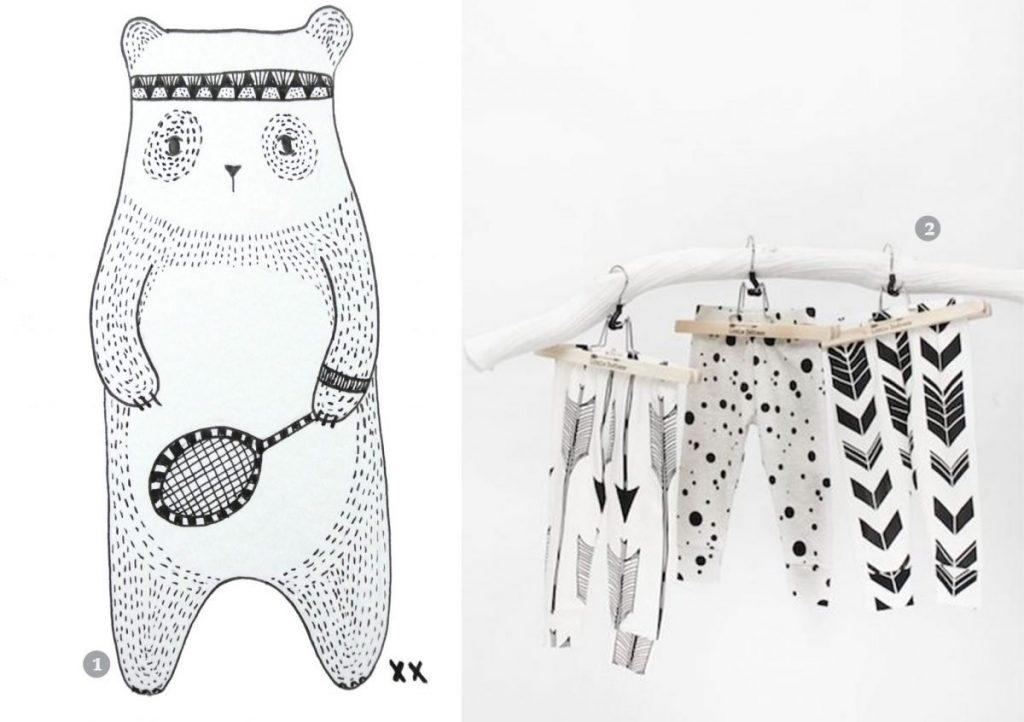 nr. 1: handmade door mij: interesse in een handmade tekening? Kijk voor meer informatie en voorbeelden hier! | nr. 2: Little Indians