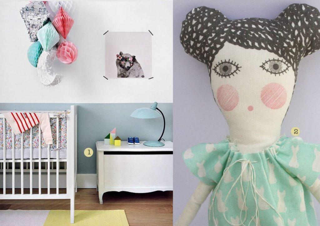 nr. 1: Gevonden op petitandsmall | nr. 2: Severina Kids' organic cotton doll