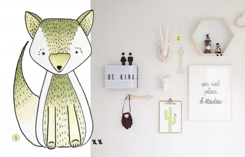 nr. 1: handmade illustratie door mij, ook interesse? Kijk hier voor meer voorbeelden | nr. 2: @Candice Rowe