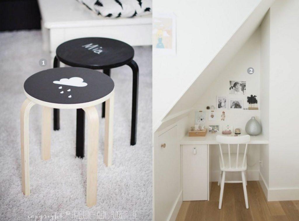nr. 1: mommo design- IKEA FROSTA STOOL HACKS | nr. 2: Gevonden op petitandsmall