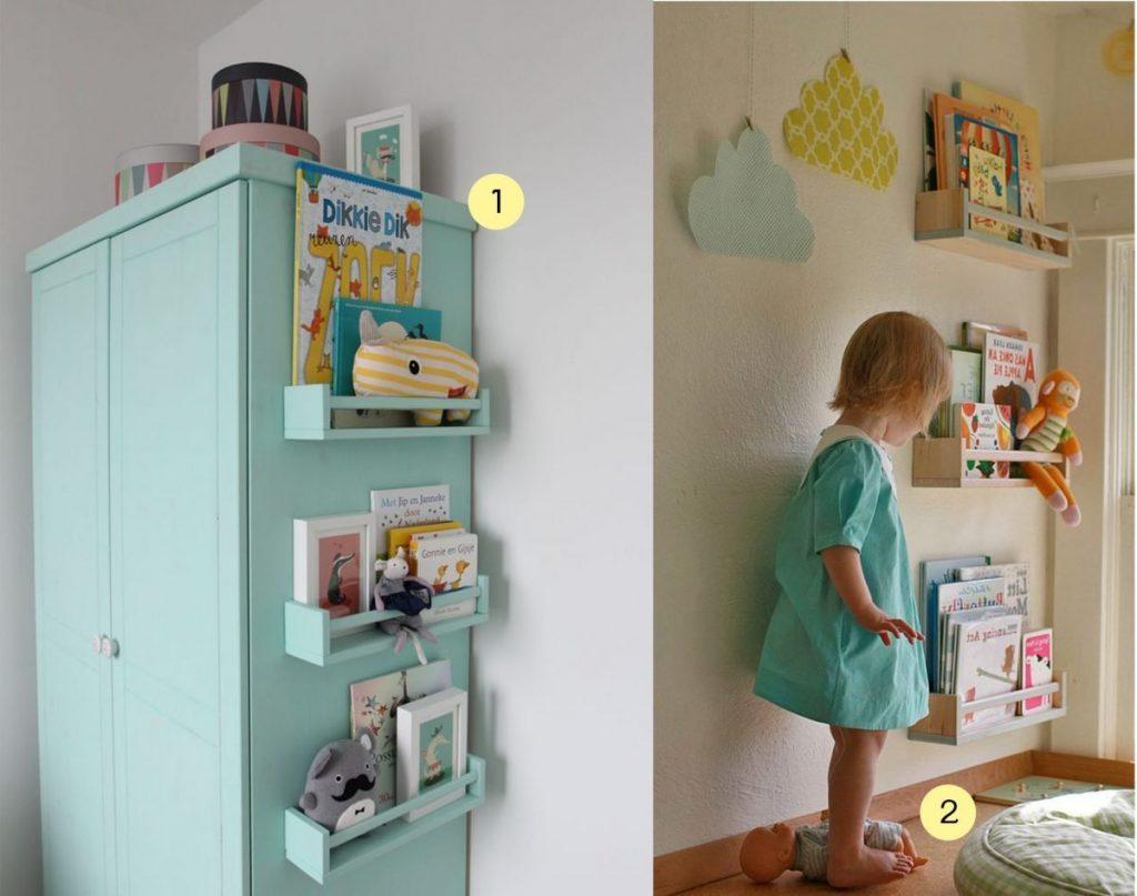 nr. 1: gevonden op woonmagazine online | nr. 2: Gevonden op decoratingyoursmallspace