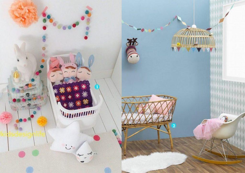 nr. 1: barnrum-barnerom kidsdesignlife-pinsta | nr. 2: marieclairemaison