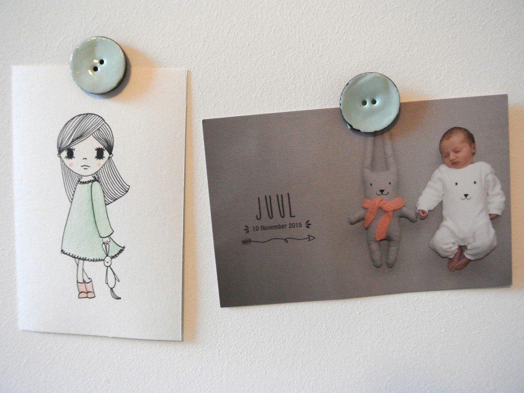 handmade tekening en geboortekaartje! Interesse? haskesommers@gmail.com