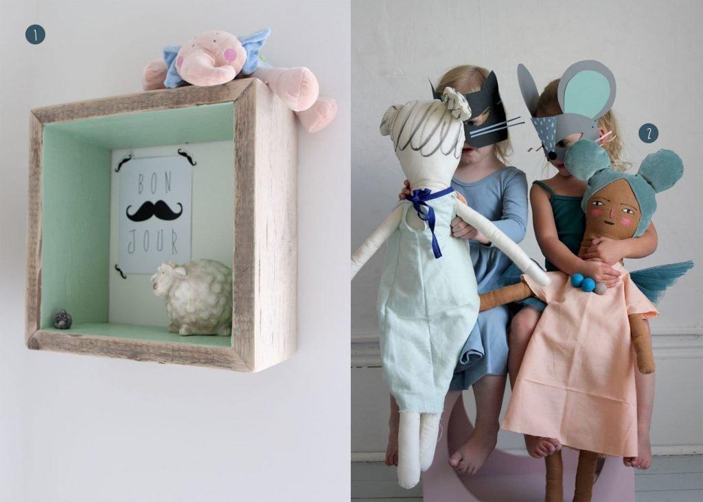 nr. 1: Hip Huisje / Wieteke Faaij   nr. 2: paper masks and playful dolls   mer mag