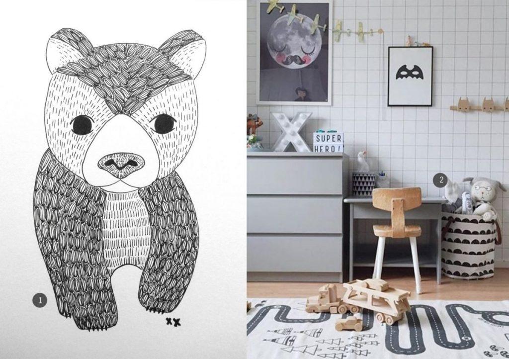 nr. 1: handmade beertje door mij: interesse? kijk hier voor meer voorbeelden en informatie | nr. 2: websta.me/n/selinej