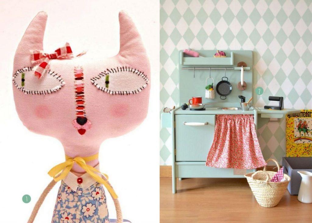 nr. 1: Skinny Kitty-etsy | nr. 2: Les jouets en bois de Macarena Bilbao-milkmagazine