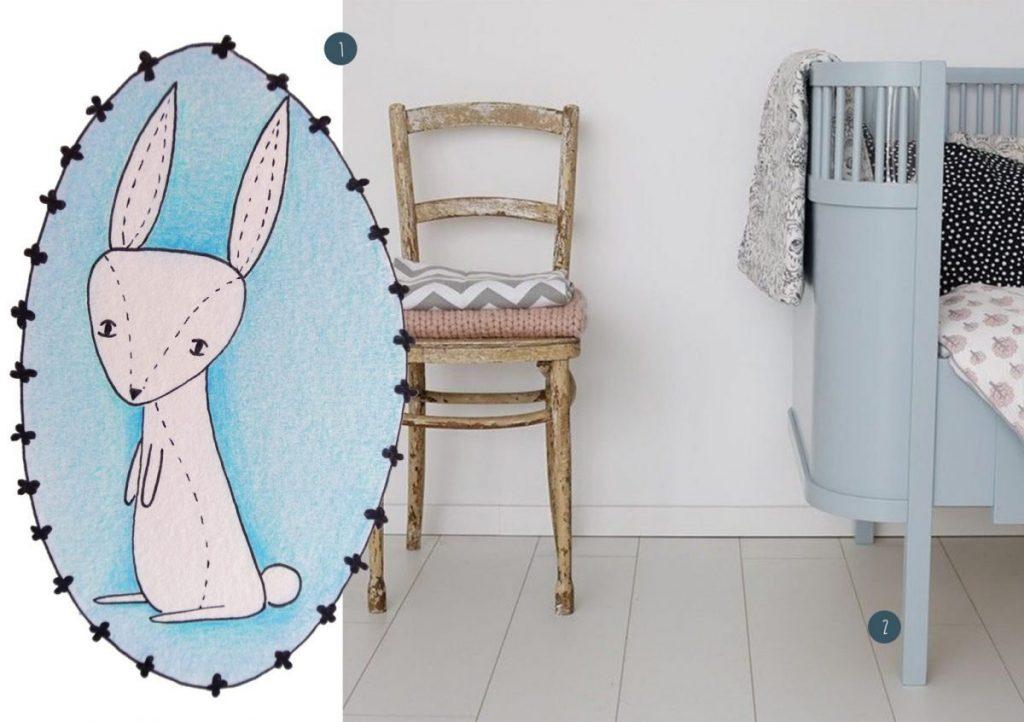 nr. 1: handmade konijntje: interesse? Kijk hier voor meer voorbeelden en informatie | nr. 2: Laminaat vloer van Ikea | CozyKidz