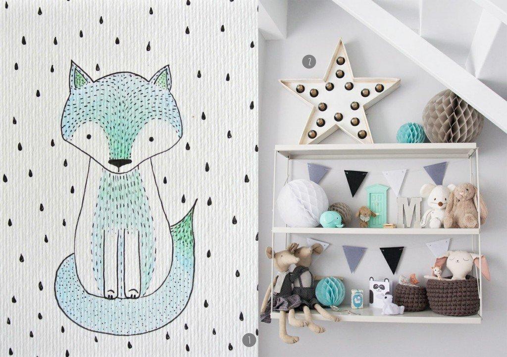 nr. 1: handmade vosje door mij: interesse? klik hier voor meer informatie en voorbeelden | nr. 2:Gevonden op mommo-design.blogspot