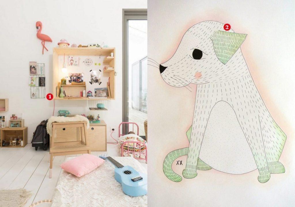 nr. 1: gevonden op The Style | nr. 2: handmade hondje door mij, interesse? Kijk hier voor meer info en voorbeelden
