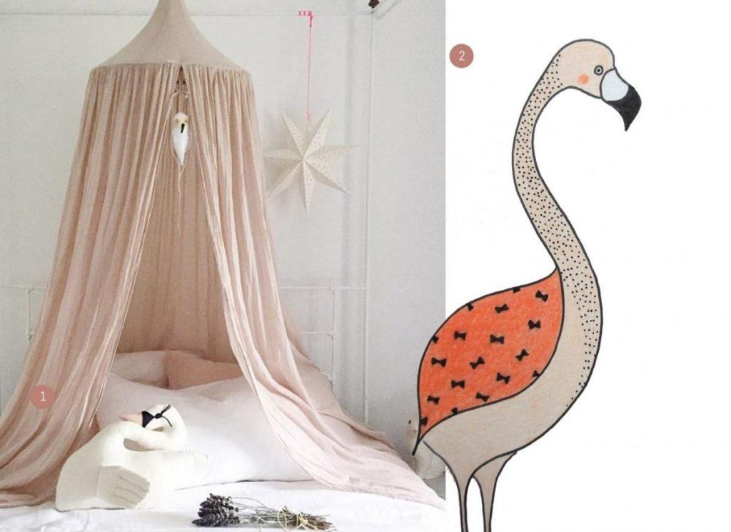 nr. 1: Theindigocrew // instagram | nr. 2: handmade flamingo door mij: interesse? kijk voor meer informatie en voorbeelden hier.